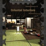 Asian-themed Interior Battlemaps from DramaScape
