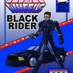 Mutants & Masterminds Black Rider and his Justice Wheels