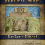 Trader's Warf Fantastic Map for Pathfinder Shadowlands