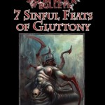 7 Sinful Feats of Gluttony for Pathfinder from Super Genius Games