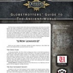 Globetrotters' Guide to the Ancient World for Leagues of Adventure