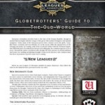 Leagues of Adventure Globetrotters' Guide to the Old World
